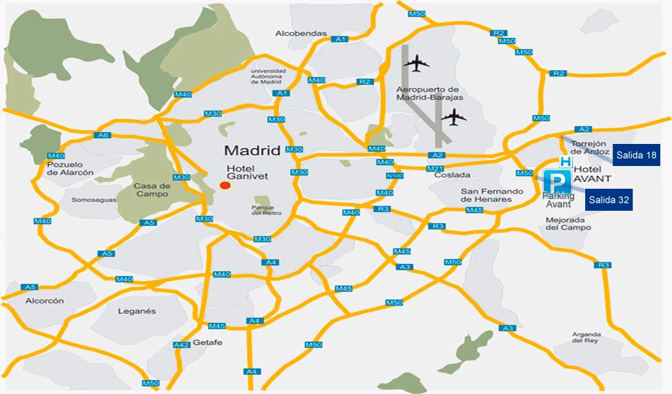 Parking avant parking larga estancia en aeropuerto de madrid - Viviendas en torrejon de ardoz ...